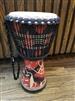"Djembe West African Drum 18.5""h x 10""w"