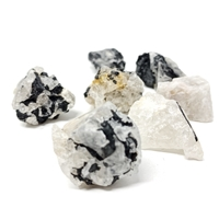Black Tourmaline clusters on quartz