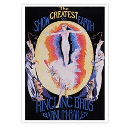 Ringling The Greatest Show On Earth Poster
