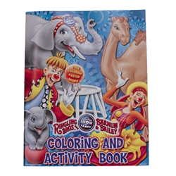 145th Circus Coloring Book