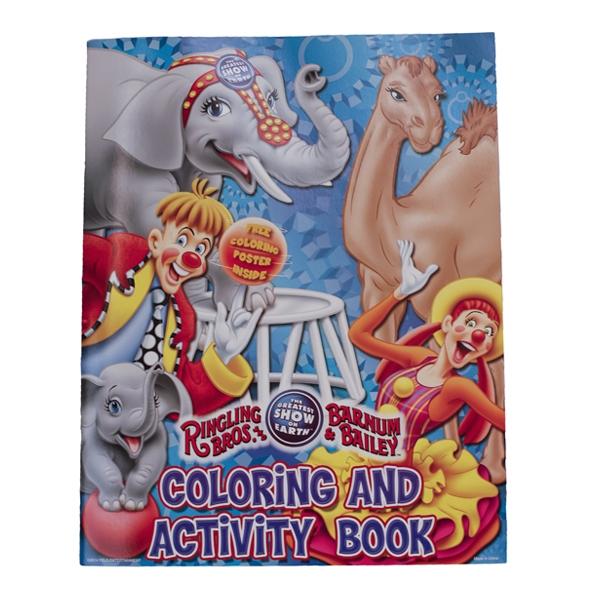 145th Circus Coloring Book