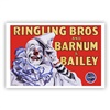 Ringling Bros. and Barnum & Bailey White Face Clown Poster