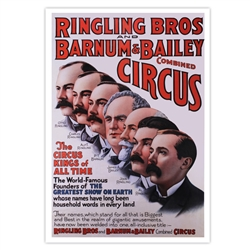 Ringling Bros. and Barnum & Bailey Poster