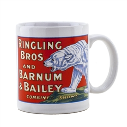 Ringling Bros. and Barnum & Bailey White Bear Mug