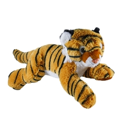 Laydown Tiger Plush - 12""