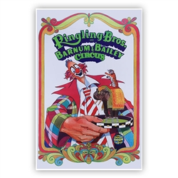 Ringling Bros. and Barnum & Bailey  Clown Poster