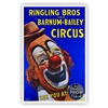 Ringling Bros. and Barnum & Bailey  L. Jacobs Clown Poster
