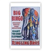 Ringling Bros. and Barnum & Bailey Big Bingo Poster