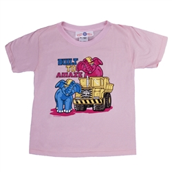 143rd Elephants/Truck Girl Tee