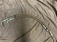 Engine Flexible Oil Cooler Lines - GMC Motorhome