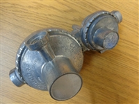 TWO STAGE PROPANE REGULATOR