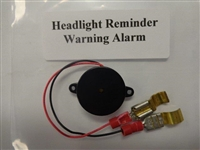 HEADLIGHT REMINDER WARNING ALARM