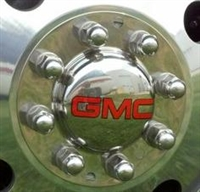 S.S Center Cap WITH GMC LOGO  for American Eagle Wheels