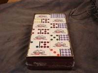 1 Set of Professional Extra Thick Double Nine Dominoes