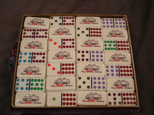 1 Set of Professional Extra Thick Double Twelve Dominoes