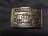 MEN'S BELT BUCKLE ( B R A S S )   - GMC MOTORHOME