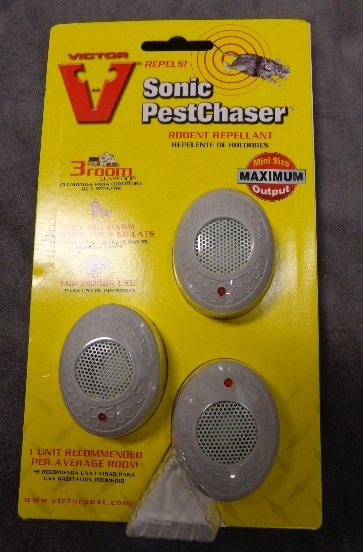 RODENT REPELLANT -  Sonic Pest Chaser