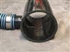 "MACERATOR REDUCER / COLLECTOR 3"" TO 1 3/8"""