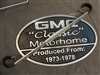 PLAQUE LADDER MOUNT - GMC MOTORHOME