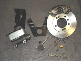 Phase Two - Rear Brake Conversion for all 4 wheels  - GMC Motorhome