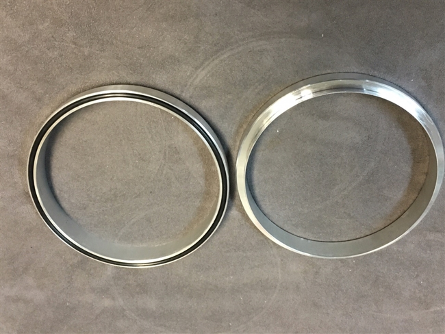 ALUMINUM SPACER WITH O-RING SURE SEAL