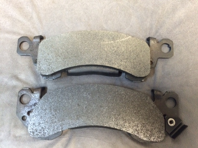 CERAMIC AND SEMI METALLIC BRAKE PADS - GMC MOTORHOME