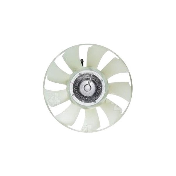 ENGINE FAN WITH ELECTRONIC FAN CLUTCH
