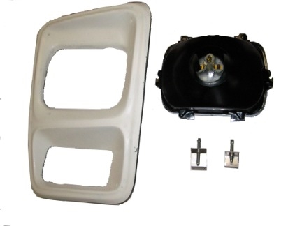 Rectangular Headlight Upgrade Kit