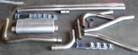 MUFFLERS BACK Aluminunized Mandrel Bent Exhaust System