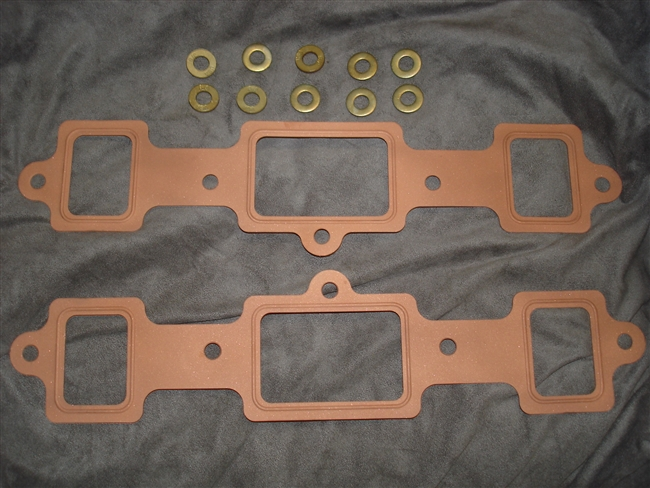 Copper Exhaust Gasket  By Dave Lenzi