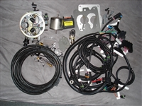 HOWELL THROTTLE FUEL INJECTION SYSTEM WITH  DISTRIBUTOR HARNESS,EBL FLASH, AND ELECTRONIC DISTRIBUTOR
