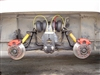 Quadra Bag 4 Bag Rear Suspension System - GMC Motorhome