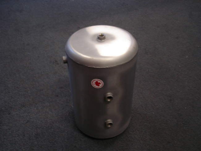 LG Stainless Steel Air Tank - GMC Motorhome