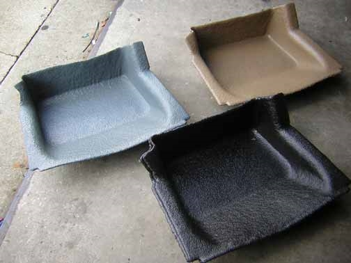 Foot well   Custom molded replacement foot mat for your GMC motorhome.