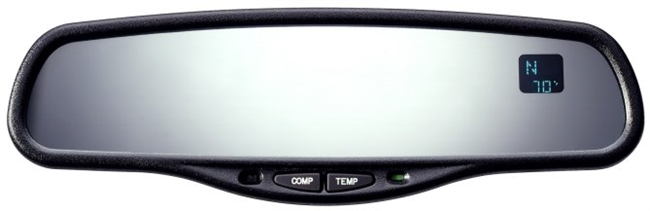 GenTek Mirror with Compass and Temperature (plus auto dimming)