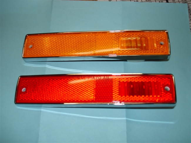 SIDE MARKER LIGHTS  ( ORIGINAL  LENS )