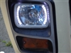 RECTANGULAR HEADLIGHTS WITH LED RUNNING LIGHTS