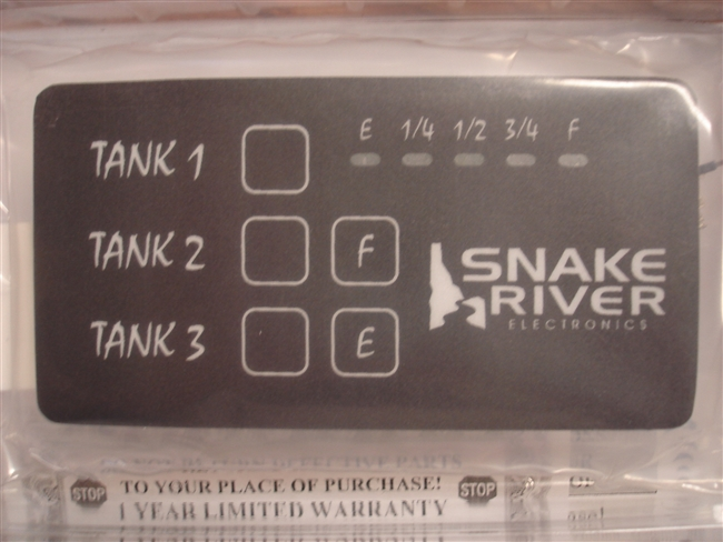 BRAND NEW SNAKE RIVER TANK MONITOR