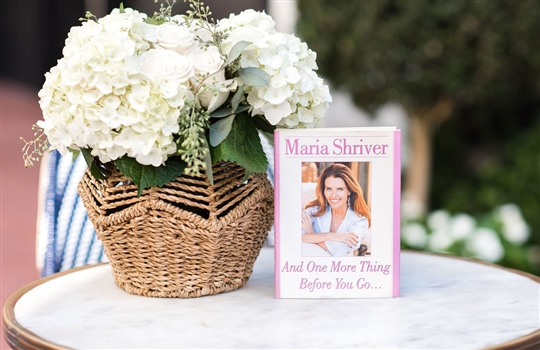 "Maria Shriver's, ""And One More Thing Before You Go..."""
