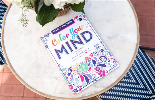 "Maria Shriver's, ""Color Your Mind: A Coloring Book"""