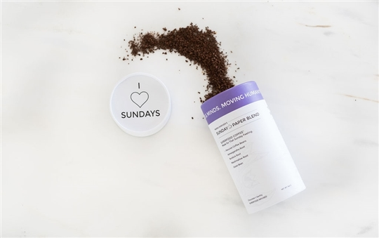 Maria Shriver's Sunday Paper Superfood Coffee