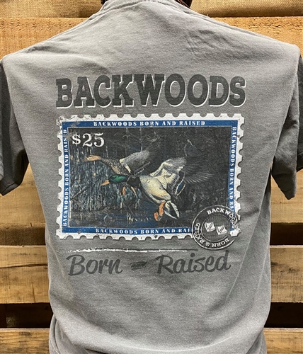 Backwoods Born & Raised Duck Stamp
