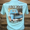 Backwoods Born & Raised Truck with 3 labs
