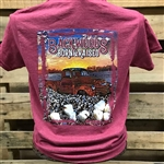 Backwoods Born & Raised Truck in Cotton Field