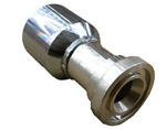 Bite to Wire Crimp Fitting for Hoses - Code 61 Straight | Hose & Fitting Supply