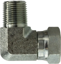 Male Pipe Elbow Swivel Adapter