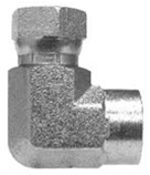 NPSM Swivel Hose Adapters & Fittings - Female Pipe Elbow