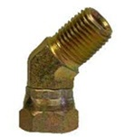 Male 45° Pipe Elbow Swivel Adapter