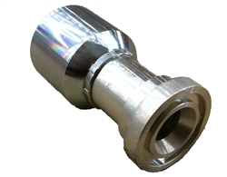 Bite to Wire Crimp Fittings for Hoses - CAT Flange Head