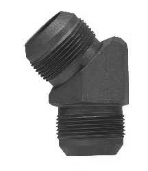 37 Degree JIC Hydraulic Hose Adapters - JIC Male 45 Degree Elbow